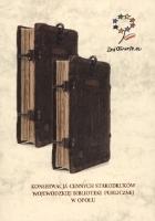 Konserwacja cennych starodruków Wojewódzkiej Biblioteki Publicznej w Opolu